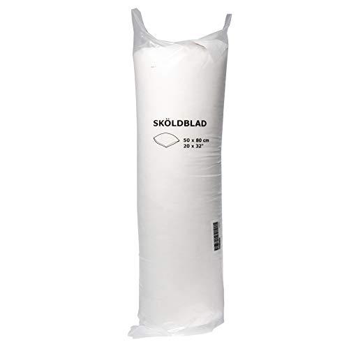 Ikea SKOLDBLAD - Cuscino leggero, 50 x 80 cm, più morbido