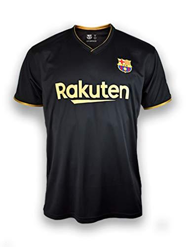 FC. Barcelona Camiseta Replica 2ª EQ. Temporada 20/21 Adulto - Producto con Licencia - 100% Poliéster – Dorsal Liso - Talla XL