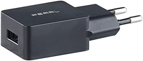 PEARL USB Netzstecker: USB-Netzteil für Smartphone, E-Book-Reader u.v.m, 2 A / 10 W, schwarz (USB Steckernetzteil)