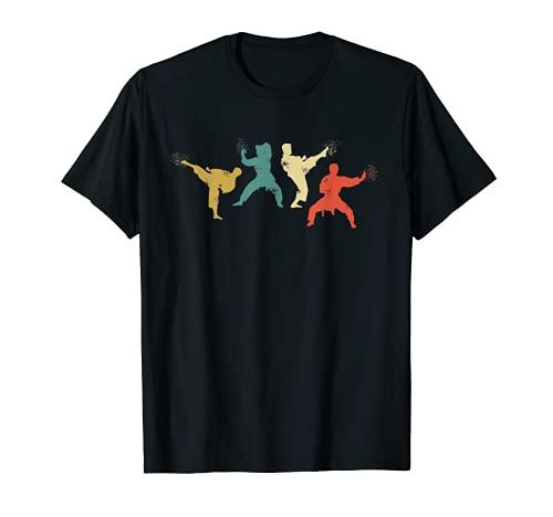 Karate Kampfkunst - Vintage Retro T-Shirt