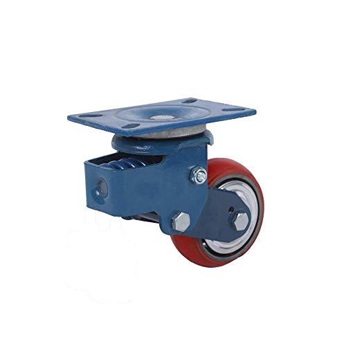 1 pak schokdemper wiel schokdemper wiel veerwiel rem deur dempingswiel dempingswiel universeel wiel 6 inch schokdemper wiel 5 inch zwenkwiel