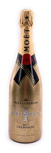 Moët Chandon Imperial Brut Gold 150th Anniversary Edition 0,75l Champagner 12% Vol Golden Sleeve