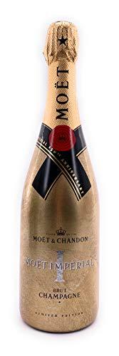 Moët Chandon Imperial Brut Gold 150th Anniversary Edition 0,75l Champagner 12{b0e0e96da78547b0a588c44ba153bfd90177f378abf7986c9b646cb08cccd8ec} Vol Golden Sleeve