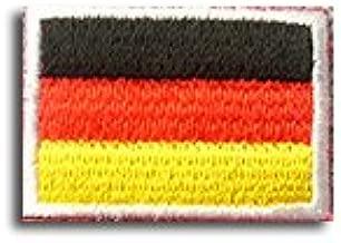 ドイツ 国旗 アイロン ワッペン (ミニ 約33mmx24mm)