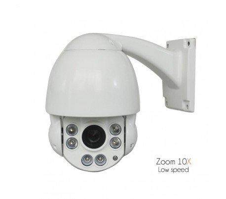 Sony CCD–Telecamera di video sorveglianza motorizzata, zoom 10x di 3,8A 38mm, fissaggio a parete–dom-s19–73