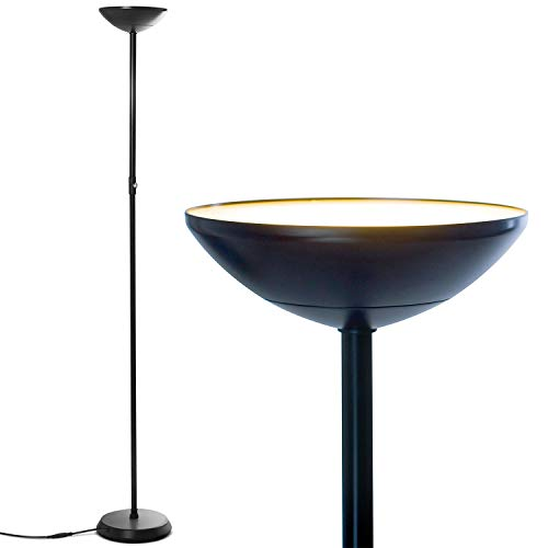 Brightech SkyLite LED Torchiere Floor Lamp
