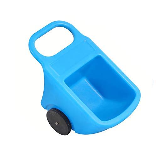 YYLL Kinder-Schubkarre Kinderwagen Kinderwagen for Innen-Innen-Toys Geschenk for Kinder Kleinkind Jungen Mädchen...