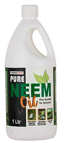 Chipku Pure Cold Pressed Water-soluble Neem Oil for Spray on Plants and Garden (1 Ltr)
