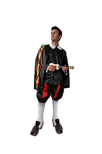 Costumizate! Disfraz de Tuno Adulto Especial para Fiestas de Disfraces y Carnaval Talla Unica