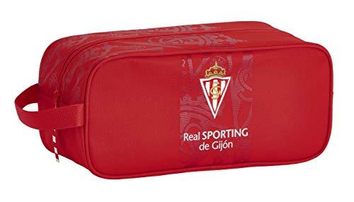 Zapatillero Mediano de Real Sporting de Gijón Oficial, 340x140x150mm