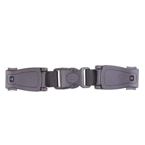 Godya Baby Car Seat Safety Strap Chest Harness Clip Durable Black Safe Buckle Locking Belt for Kids Children