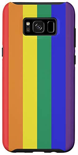 Galaxy S8+ Rainbow Flag LGBTQ Pride Lesbian Gay Phone Case