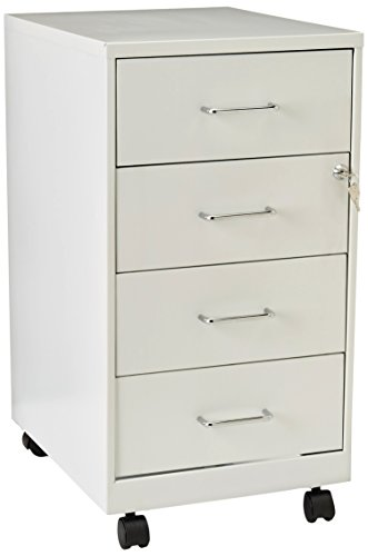 Lorell LLR19537 4 Drawer File Cabinet, White