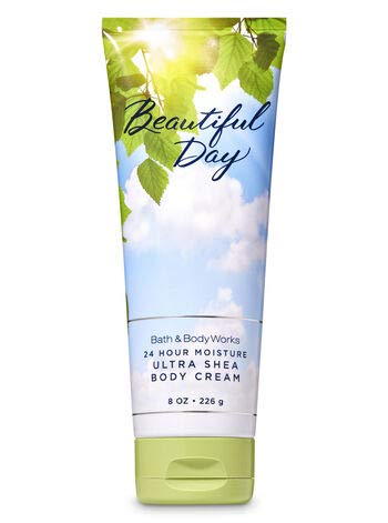 Bath & Body Works Beautiful Day Ultra Shea Body Cream 24 Hour Moisture 8 oz / 226 g