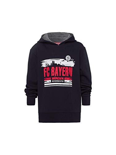 FC Bayern München Kinder Hoodie Skyline blau, 152