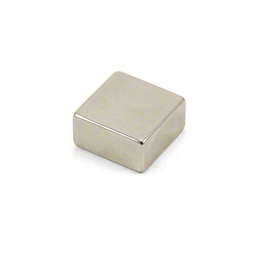 Magnet Expert 20 x 20 x 10 mm d'épaisseur N42 Néodyme Aimant - 14.2 kg de traction (Pack de 1)