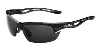 Bolle Bolt S Photo V3 Golf Sunglasses Shiny Black/HD Polarized TNS