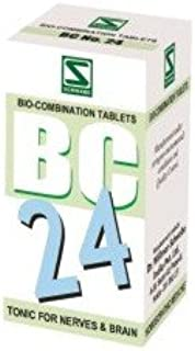 3 Pack of Bio Combination 24 for nerves- Schwabe Homeopathy