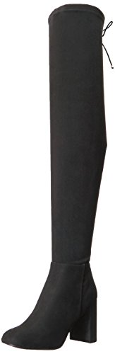 Chinese Laundry Women's Krush Winter Boot, Black Suede, 11 M US
