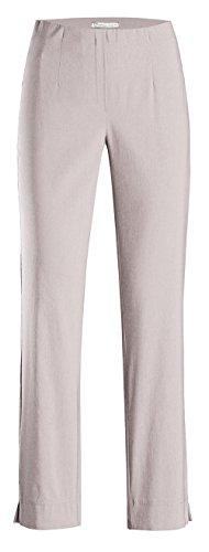 Stehmann INA-740, Bequeme,stretchige Damenhose-Bitte mindestens 1 Nummer Kleiner bestellen, Kalk, 44