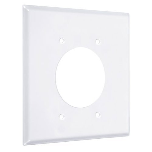 Hubbell-Bell 5829-6 Round Box and Lamp Kit White