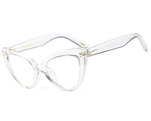 YOFASEN Gafas De Sol Al Aire Libre Para Mujer, Gafas Antideslumbrantes Antideslumbrantes, Fatiga Antiojos Unisex Y Dolor De Cabeza,Blanco