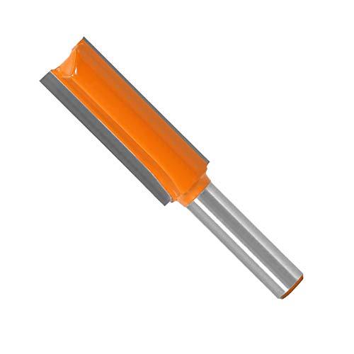 WSOOX 8mm Schaft Router Holz Bit Flöten Extra Lange Gerade Fräser Holz Gravierwerkzeug Holz Schneidmesser