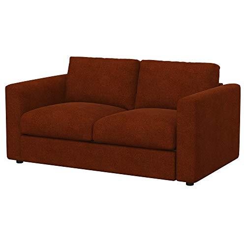 Soferia Funda de Repuesto para IKEA VIMLE sofá de 2 plazas, Tela Strong Copper, Naranja