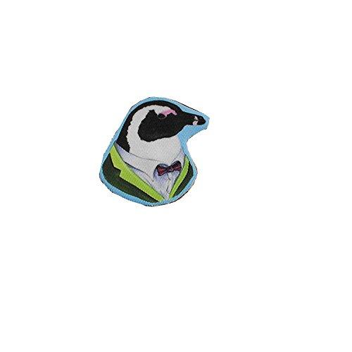 Haut Luxe Noeud Papillon Avec Pingouin Serie British Broche White Fete De Mariage