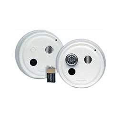 Gentex 9123HF Smoke Alarm, 120V Hardwired Interconnectable Photoelectric w/9V Battery Backup, T3 Horn, Isolated Heat Alarm & A/C Contacts (917-0016-002)