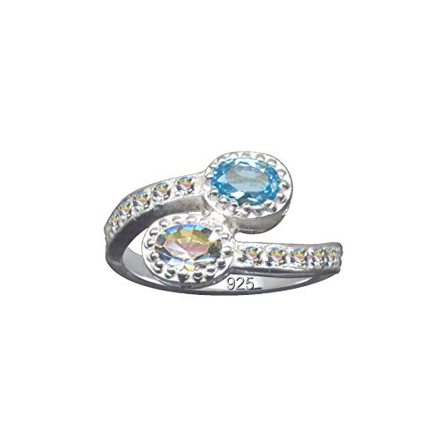 Anillo de plata, anillo de dedo, azul claro, azul, blanco, circonitas, serpiente, plata de ley, amor, creencia, esperanza, emoción, símbolo, diseño, objeto, extravagante, blanco transparente