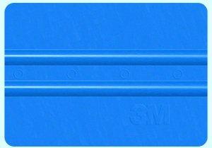 Verkleberakel Kunststoff Rakel 3M blau zur kratzerfreien Folienverklebung.1 Stk.