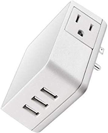 Insignia - Wall Tap USB Wall Charger - White
