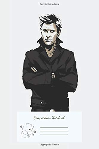 Composition Notebook: Supernatural Punklucifer Wide Ruled Journal with lined Paper for Taking Notes, Writing Wrokbook