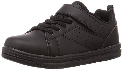 [シュンソク] スニーカー 運動靴 軽量 19~24.5cm 2E キッズ 男の子 女の子 SJJ 8190 9130 ブラック 20 cm