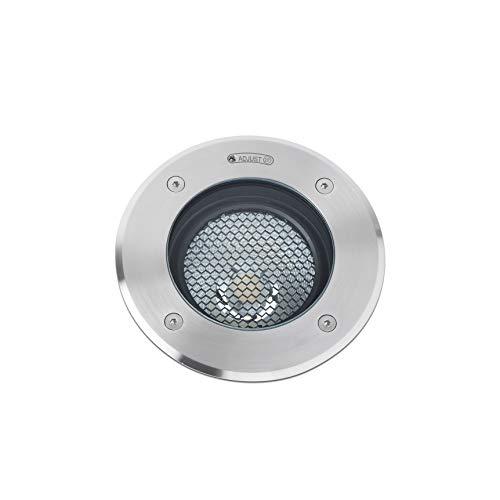 Faro Barcelona 70310- GEISER LED Lámpara empotrable orientable gris GU10