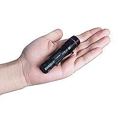 Coomatec SD-200 Ultra Puissante Neutral White 450 Lumen LED Lampe de poche EDC Lampe Torche Zoom Flashlight