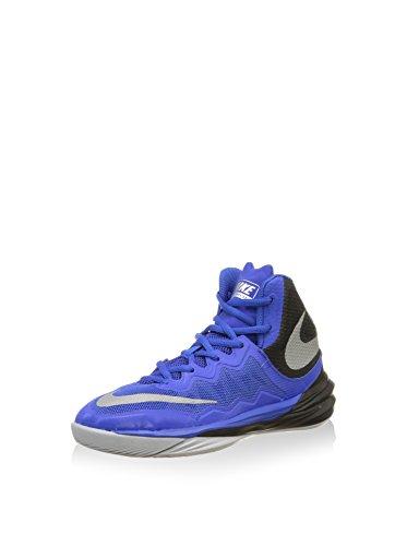 Nike Unisex-Kinder Jr Prime Hype Df Ii Gs Basketballschuhe, Blau Silber Schwarz Gm RYL RFLCT Blk Slvr WLF Gry, 38 EU