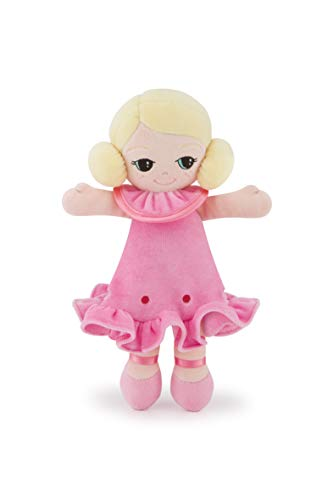 Trudi 64455 Stoffpuppe mit rosa Kleidung Softpuppe, S