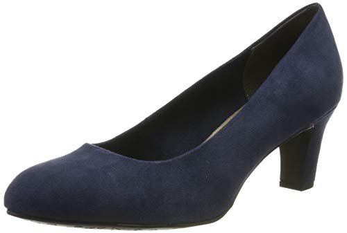 Tamaris Damen 1-1-22418-23 805 Pumps, Blau (NAVY 805), 37 EU