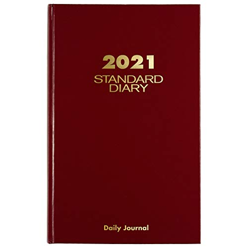 2021 Diary/Address Book by AT-A-GLANCE, Standard Daily Diary & Address Book, 7-3/4
