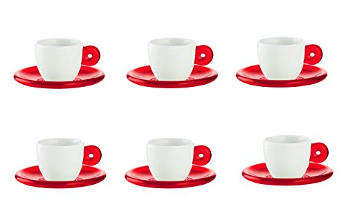 Guzzini Fratelli Gocce, Set 6 Espressotassen, SMMA|Porcelain