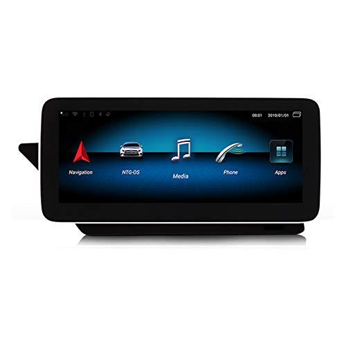 TypeBuilt Autoradio Bluetooth Android GPS Radio De Coche Pantalla Táctil De 12.5'' Android Auto Carplay Integrado Mantenga Todas Las Funciones para Benz Clase E C207 W207 A207,N8,NTG5.0