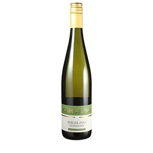 Carl Jung GmbH Riesling feinherb Alkoholfreier Wein 0.75 Liter