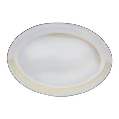 Mikasa Coronado Oval Platter, 16-Inch, Pearl