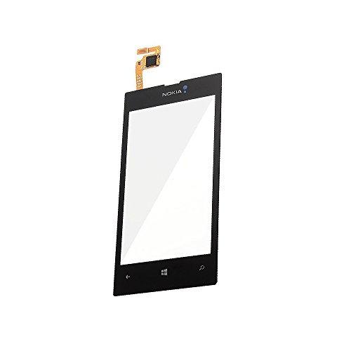 UU FIX LCD Touchscreen di Ricambio per Nokia Lumia 520(Nero), Schermo Touch Screen digitizer di Ricambio con Kit di Attrezzi (No LCD).