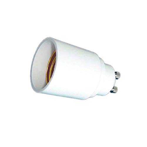 ledbox Pack 5 Unidades de Adaptador/conversor para Bombillas E27 a GU10
