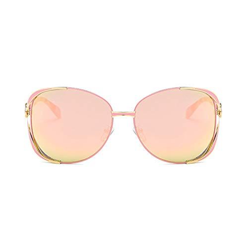TSAR003 Gafas De Sol para Mujer Polarizadas Gafas Retro Gafas De Sol Polarizadas Vintage para Mujer Gafas De Sol De Moda Protección 100% UV Diseño Elegante para Conducir Al Aire Libre D