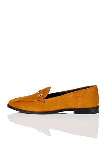 Marque Amazon - find. Snaffle Leather Loafer Mocassins,...