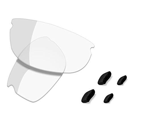 Saucer Lentes de repuesto premium para gafas de sol Oakley Commit SQ, (Alta defensa: activado fotocromático.), Talla única